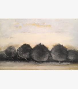 Trois arbres jaunes