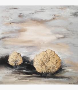 Deux arbres d'or en Provence