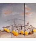 Triptych Lourmarin