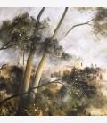 Lourmarin in the mist