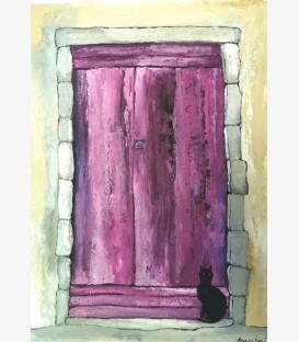 Chat noir en Provence