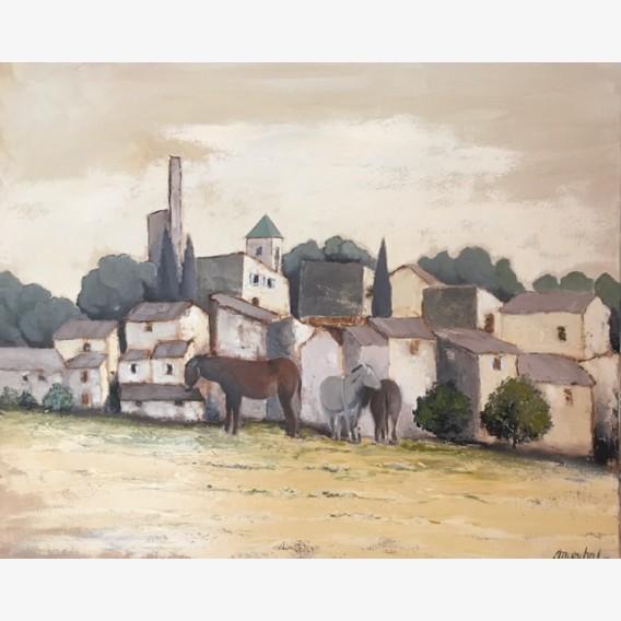 The donkeys of Lourmarin